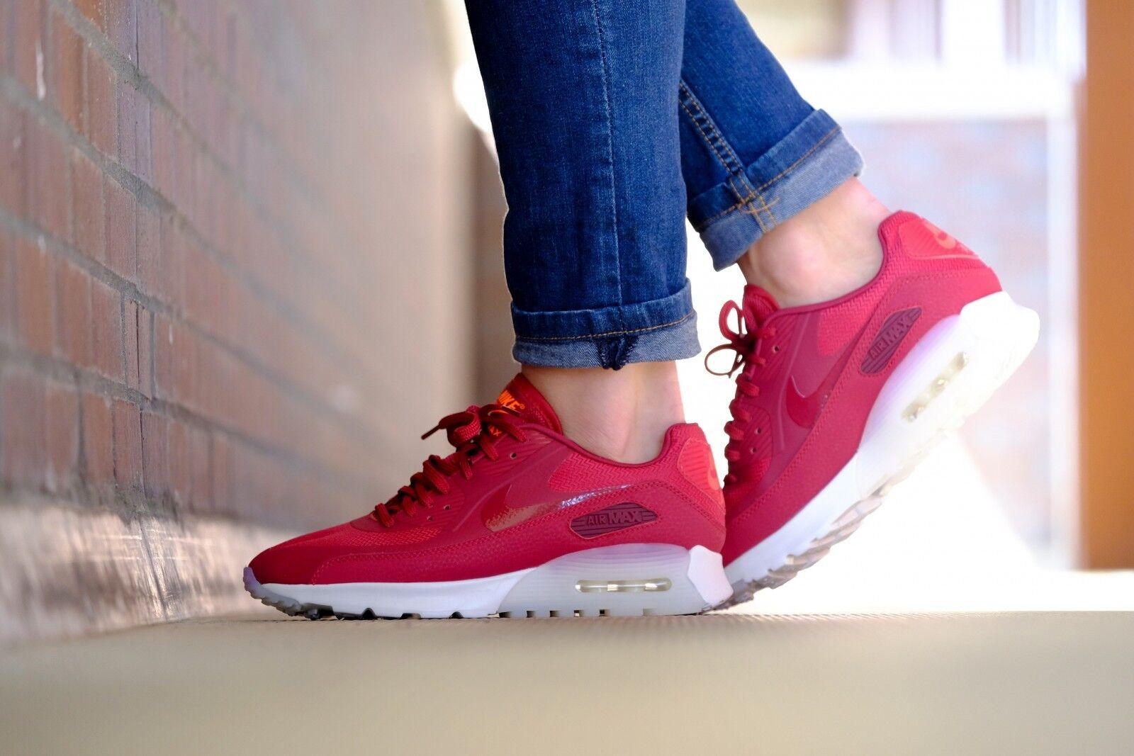 Nike air max 90 ultra femminili sz 845110-600 845110-600 845110-600 nobile rosso / bianco al vertice 747774