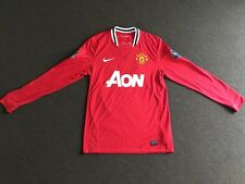 Authentic BNWT Manchester United 09/10 Scholes Size M home jersey