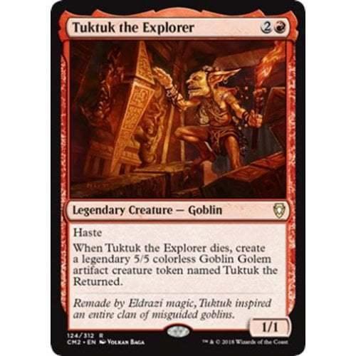 Tuktuk the Explorer MTG COMMANDER ANTHOLOGY VOLUME II