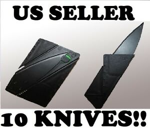 10-Tactical-Stainless-Steel-Credit-Card-Pocket-Knife-Camping-Survival-Wallet