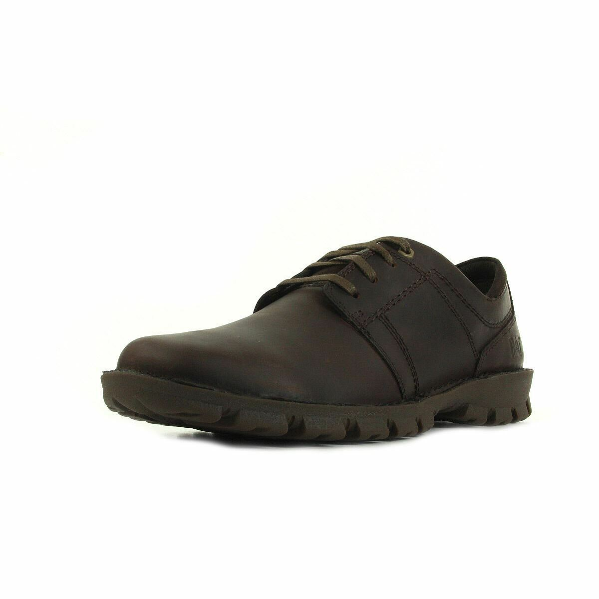 Caterpillar mens Caden Shoe in Dark Brown Sizes 6 to 11 RRP £84.99