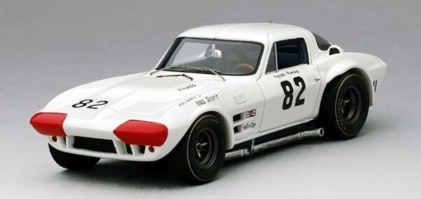 CHEVROLET Corvette Grand Sport  82 WINNER NASSAU speedweek 1964 1 43 Model