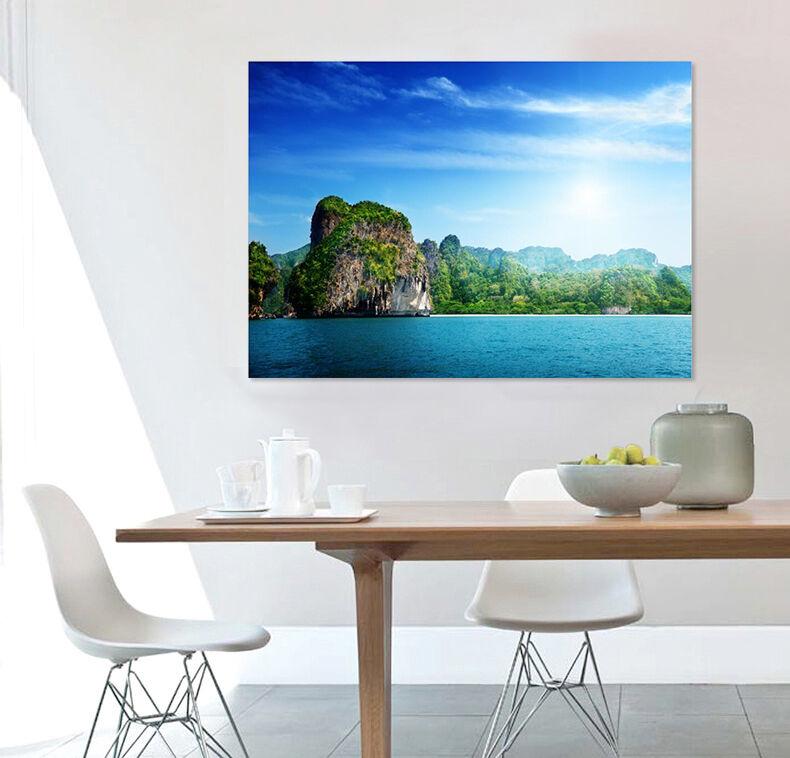 3D Himmel Meer Stein 561 Fototapeten Wandbild BildTapete AJSTORE DE Lemon