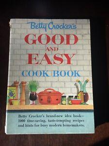 Betty crocker's outdoor cookbook 1961 vintage recipes 1st ed.