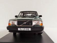 VOLVO 240 GL 1986 GREENMETALLIC 1/18 Minichamps PMA 155171400 244 Limousine
