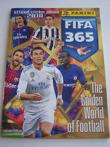 ALBUM-PANINI-FIFA-365-THE-GOLDEN-WORLD-OF-FOOTBALL-2018