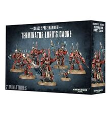Warhammer 40k Chaos Space Marines Terminators Lords Cadre NIB