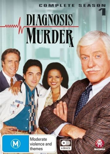 1 of 1 - Diagnosis Murder : Season 1 (DVD, 2015, 6-Disc Set)