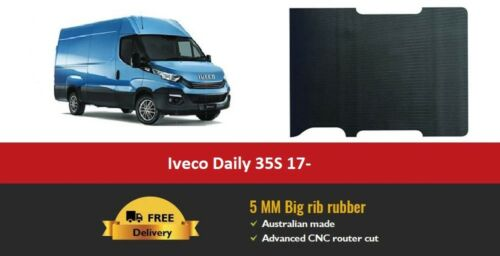 Iveco Daily 35S Van Flooring 5mm Big Rib Cargo Rubber Matting
