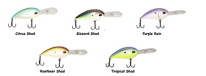 Jenko CD20 Deep Diving Crankbaits Choice of Colors