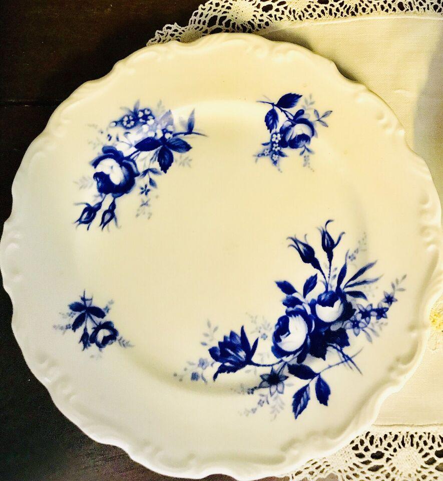 Porcelæn, kaffekop og kagetallerken , Royal Albert