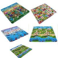 New Baby Kid Toddler Crawl Play Game Letter Alphabet Mat Carpet Picnic 180*180CM