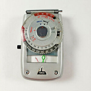 Tower Light Exposure Meter - Model 8879 Vintage Camera Photography PARTS ONLY