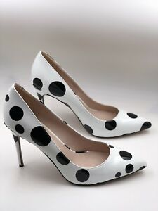 Polka-Dots-High-Heels-Pointed-Toes-Women-s-Shoes-9