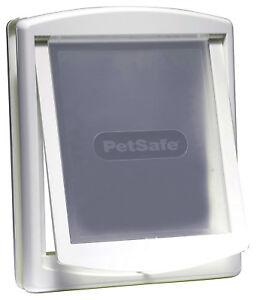 Pet-Door-Dog-Flap-Large-2-Way-Lockable-Entrance-White-Gate-456-x-386-mm