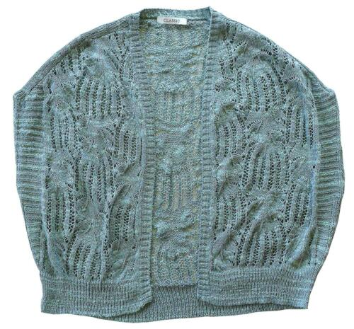 Femme Shrug Cardigan Chainstore Bolero Tricot Châle Cardy Grandes Tailles 8 To 20