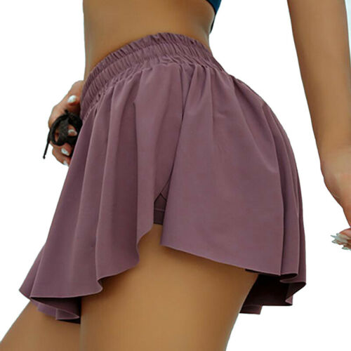 Women Lady Shorts Elastic Waist Summer Beach Casual Loose Running Gym Hot Pants
