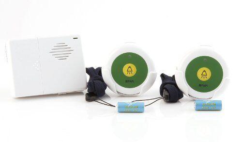 Domotica 04014 sistema di chiamata fino a 150 mt senza fili via radio portatile