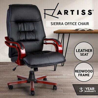 Artiss Executive Wooden Office Chair