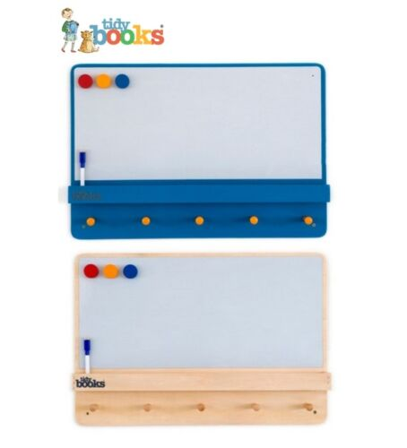 Tidy Books Forget Me Not Message /& Storage Notice Board Peg hanger