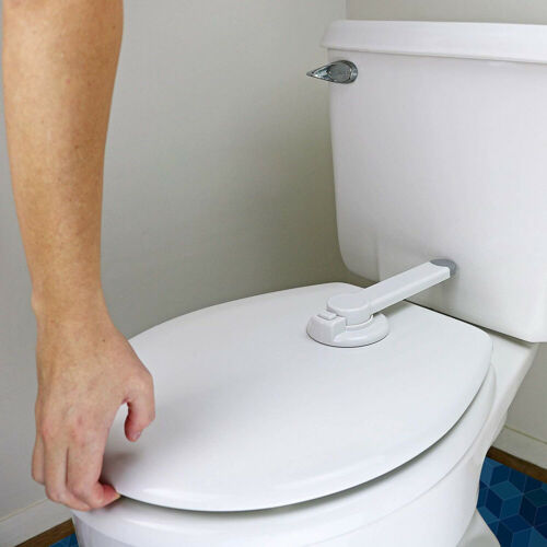 Kinder Baby Toilettenschloss Sicherheits WC-Verschluss Schutz Kleinkind Zubehör