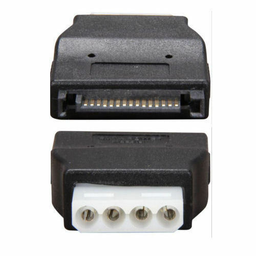 Galaxy GC154 SATA 15Pin to Molex 4Pin M Adapter F
