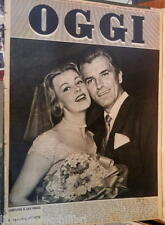 OGGI 8 luglio 1954 Arlene Dahl Carabinieri Ferrovie DC a Napoli Rossetti Zola di