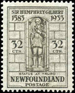 Mint-Canada-Newfoundland-1933-32c-F-Scott-225-Stamp-Re-Gummed-Hinged