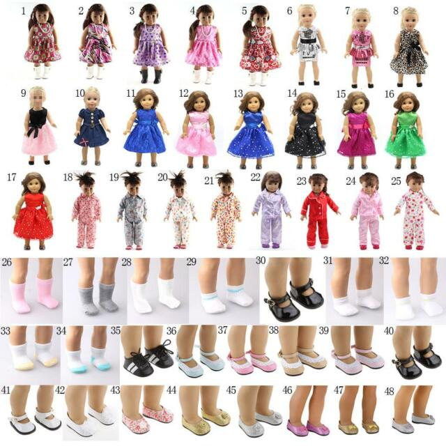 """**SALE on NEW** Doll Dress Shoes for 16/"""" 18/"""" dolls as American Girl Dolls"""