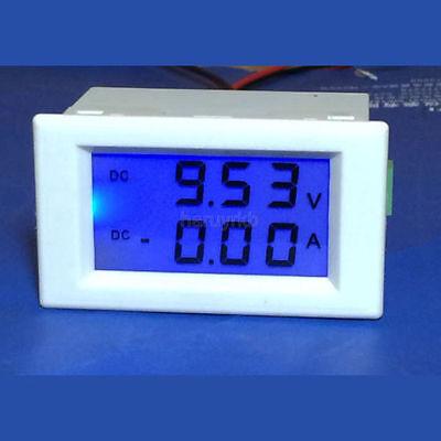 DC 0-600V 100A Voltmeter Ammeter LCD Panel Amp Digital Volt Gauge meter 12V/24V