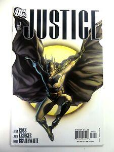 DC-Comics-JUSTICE-2005-2-Rare-ALEX-ROSS-BATMAN-2nd-Print-VARIANT-Ships-FREE