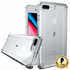 buy online 1c14e bda30 Details about Poetic Apple iPhone 8 Plus Rugged Case [Affinity Series]  Shockproof Cover Clear