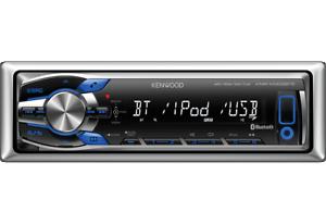 Autoradio-Kenwood-KMR-M308BTE-ad-uso-marino-con-Bluetooth-e-Usb