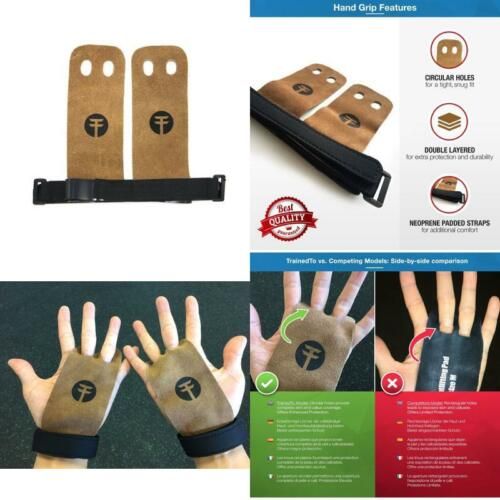 Gloves CrossFit Gymnastic Protect Hands WOD Bar Pull Up Grips Gym Fitness Large
