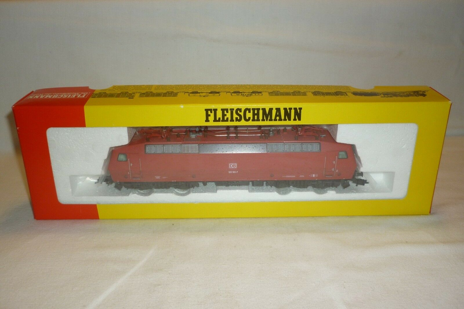 FLEISCHMANN - SPUR H0 - 4352 ELEKTRO ELEKTRO ELEKTRO LOKOMOTIVE DB 120 160-7  -  OVP (8.EI-76) f30d0e
