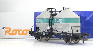 ROCO-47563-DB-Carro-Silos-Ucs-034-Schwarz-Bau-034-Ep-IV
