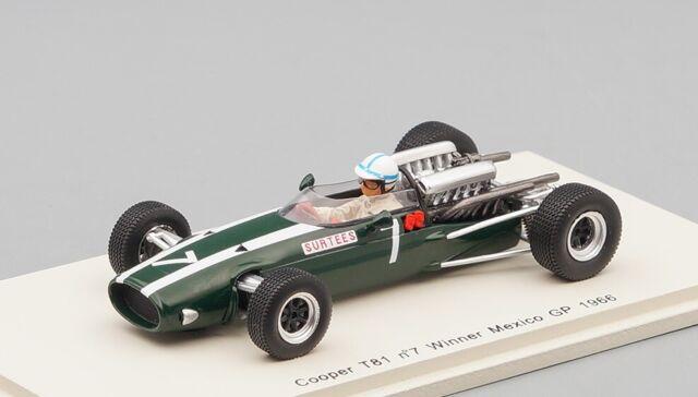 Guy ligier Cooper t81 No 21 Monaco GP Formula 1 1966