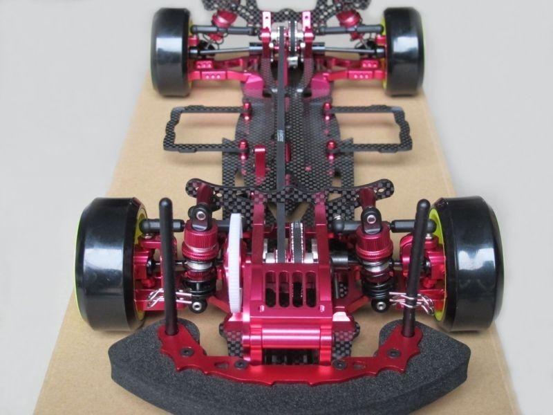 Aleación de & Carbono Sakura D3 Cs 1 10 4wd Drift Racing Car Kit del marco w front una forma