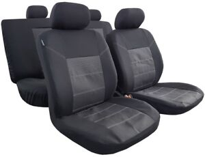Awesome Details About Black Esteem Truck Seat Covers 9Pcs Full Set For 2018 2017 Toyota Tacoma Trd Ibusinesslaw Wood Chair Design Ideas Ibusinesslaworg