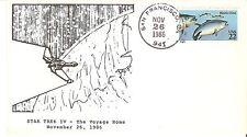 STAR TREK IV - The Voyage Home - November 26, 1986 - envelope with postmark