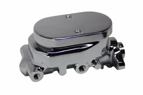 "Impala BelAir 8/"" Dual Chrome Power Brake Booster Kit Side Disc//Disc"