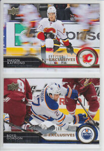 2014-15-UD-SERIES-EXCLUSIVES-BOYD-GORDON-100-GOLD-PARALLEL-326-Upper-Deck-Oiler