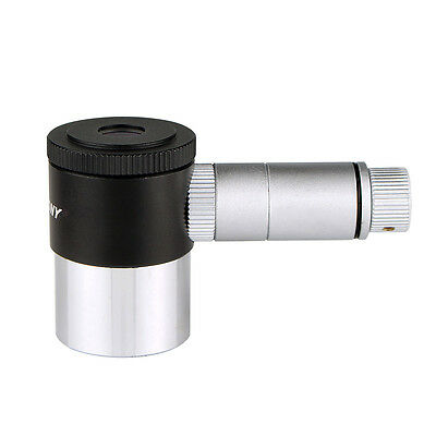 1.25 Inches Reticle Illuminated Eyepiece Ideal for Perfectly Guided Astrophotos 4-Elements Design 12.5 MM Double-Line Crosshair LED Illuminator