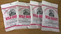 Claeys Wild Cherry Old Fashioned Hard Candy 4 Pack 6oz Bags Free Shipping