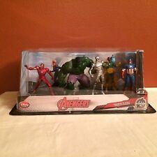 Disney Store Exclusive Marvel Avengers 6 Figurine Playset NEW HTF