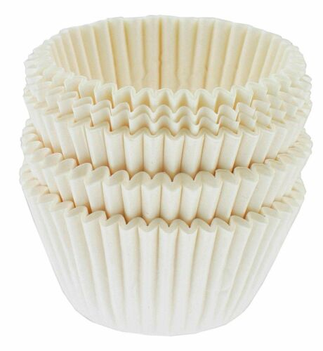 Norpro Mini White Paper Baking Muffin Cupcake Cups Cases Liners Set Of 100