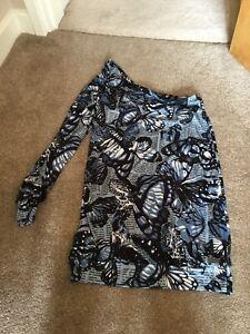 Miss-Sixty-One-Shoulder-Dress-Size-Medium