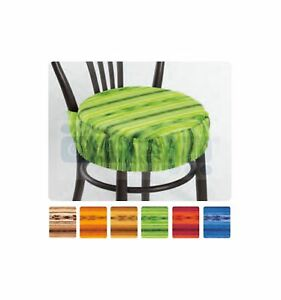 Cuscini Rotondi Sedie Cucina.Ikarus Cuscino Copri Sedia Rotondo Con Fascia Elastica Ebay