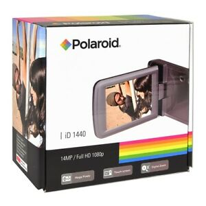 Polaroid-Camcorder-ID1440CL-RED-14MP-4x-Digital-Zoom-Full-HD-1080p-Touchscreen