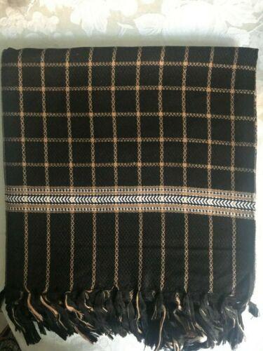 Men/'s Shawl Blanket Style Afghan Patu Style